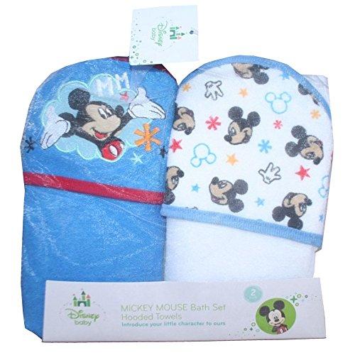 Disney Baby Mickey Mouse Set Pack 2 Sorties de Bain Ensemble-cadeau