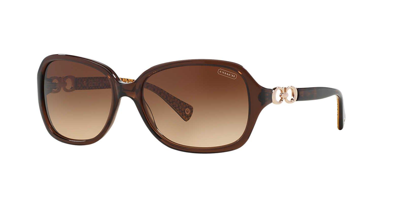 Coach Women 1099081002 Brown/Brown Sunglasses 58mm