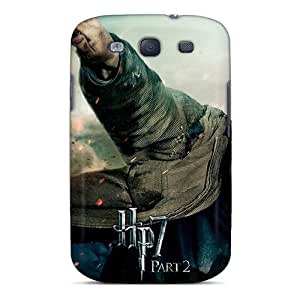Top Quality Tpu Harry Potter And Deathly Hallows Protective OHAZlv-992-HLF Case For Galaxy(s3) Case