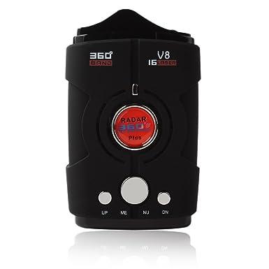 Detector de radar, detector de trampa, sistema de alarma de voz V8 para coche, detección de ...