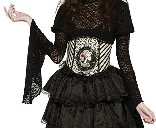 Rubie's Costume Co. Women's Skeletal Cincher Costume Accessory, Multicolor One Size ()