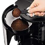 Krups-KM321-Proaroma-Plus-Macchina-da-caffe-con-recipiente-in-vetro-10-tazze-1100-W-design-moderno-Nero-con-inserti-in-acciaio-inox