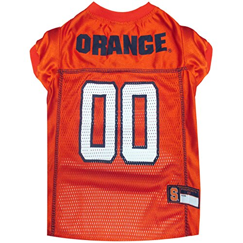 Pets First NCAA SYRACUSE ORANGE DOG Jersey, (Syracuse Orange Jerseys)
