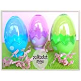 Plastic Fillable Easter Eggs Containers