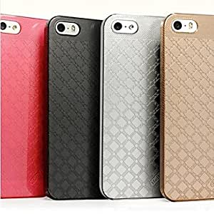 NEW Fashion Luxury Hard PC Back Case Cover for iPhone5/5S , Black