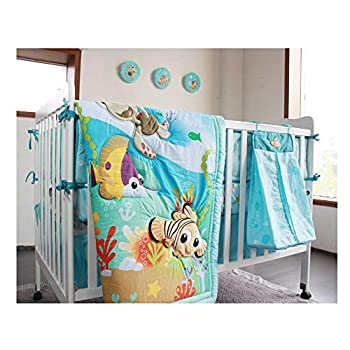 Image of Nursery Crib Bedding, Baby Gift Bedding Sets,22PCS Necessary Newborn Cotton Comfort Suits for Bedtime and Bathing Home and Kitchen