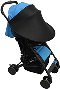 Universal Baby Stroller Sun Shade Cover Adjustable Anti-UV Rayshade Sunscreen Breathable Awning Umbrella Extender Sunshade Canopy