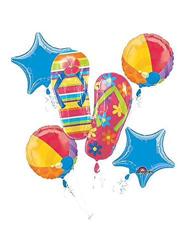Flip Flops Balloon Bouquet (5 PACK)
