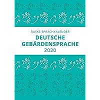 Sprachkalender der Deutschen Gebärdensprache 2020