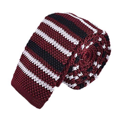 SHADOW STRIPE KNIT TIES - Shadow Stripe Tie