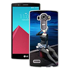 Popular And Unique Designed Cover Case For LG G4 With Amakura Worlds And Worlds End Girl Guy Night Water Shore white Phone Case