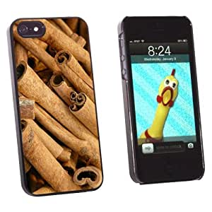 phone covers Graphics and More Cinnamon Sticks - Dried Brown Spice - Snap-On Hard Protective Case for Apple iPhone 5c - Non-Retail Packaging - Black