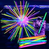 PartyLights Novelty Party Fun Novelty Glow Stir Sticks (100 per pack! ) 8""