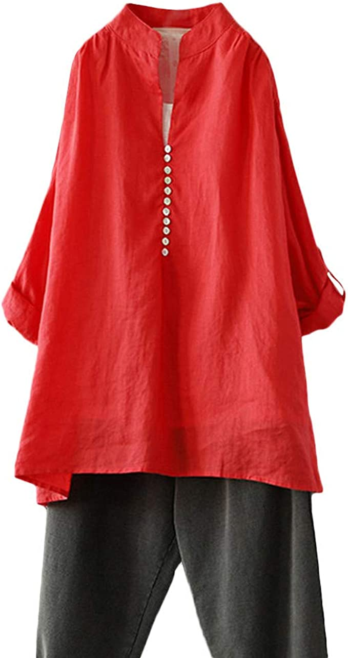 Colmkley Women Off The Shoulder Tunic Tops Loose Batwing Sleeve Print Shirt Tops