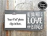 CELYCASY Bingo Bingo Sign Bingo Gift Bingo Prize Bingo Player Bingo Decor Bingo Art Bingo Game Bingo Decoration 319