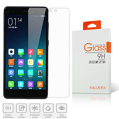 Tempered Glass Screen Protector for Xiaomi Mi Note (Clear) - 4