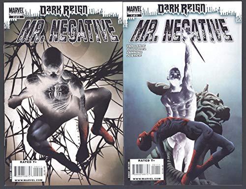 Dark Reign Mr. Negative #1-3 Complete Set Full Run Marvel Comics 2009 CBX36