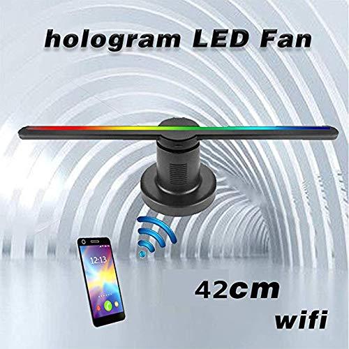 YLIK Pantalla de Ventilador de Holograma 3D, LED Proyector ...