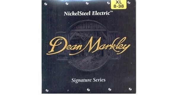 Amazon.com: CUERDAS GUITARRA ELECTRICA - Dean Markley (2501/B) Extra ...