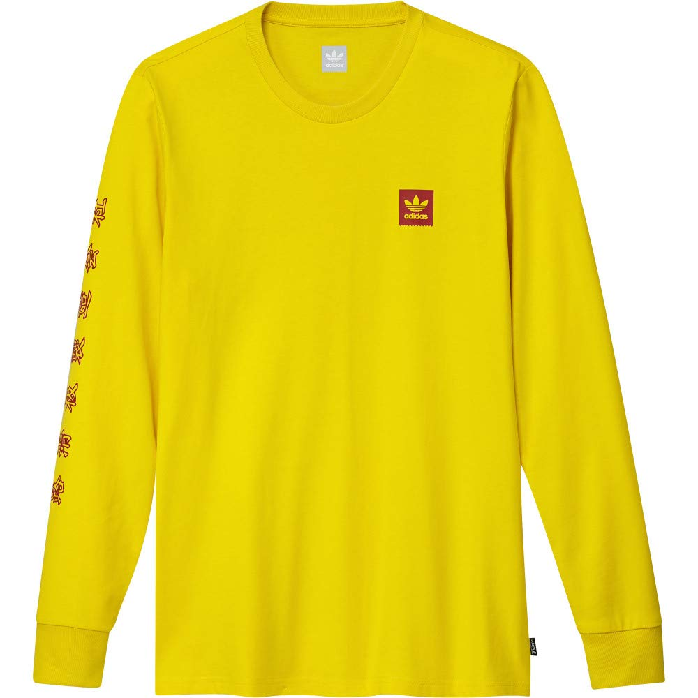 adidas Skateboarding x Evisen - Camiseta de Manga Larga, Color ...