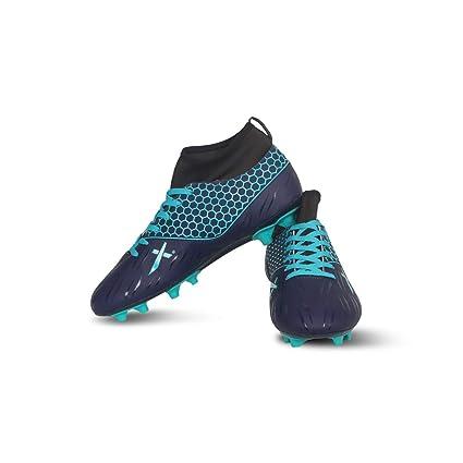 Vector X Champion Football Shoes (Navy,Sea Green)