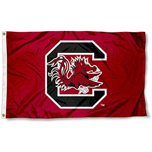 South Carolina Fighting Gamecocks USC University Large College Flag (Logo Carolina University South Gamecock)