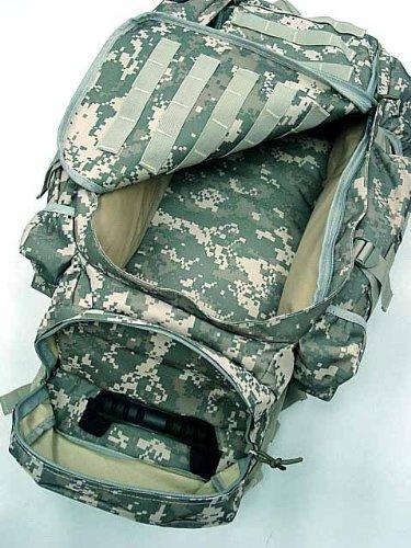 Airsoft 9.11 Tactical Full Gear Rifle Combo Backpack Digital ACU Camo