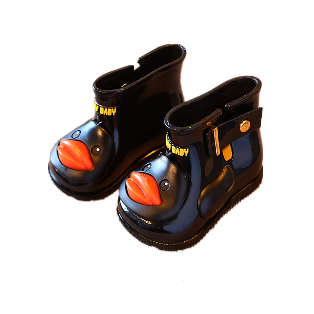 Gusha Waterproof Martin Boots Womens Short rain Boots Cute Shoes