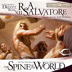 The Spine of the World: Legend of Drizzt: Paths of Darkness, Book 2 Audiobook