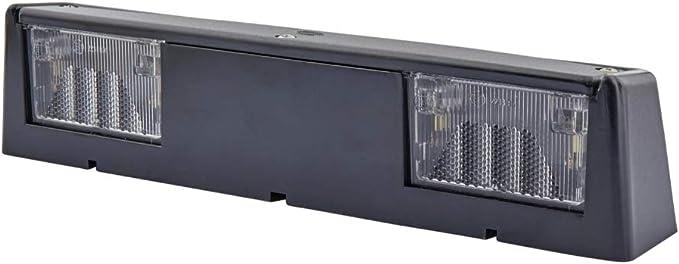 Hella 2ka 004 525 001 Kennzeichenleuchte Anbau Kabel 175 205mm Stecker Flachstecker Links Rechts Auto