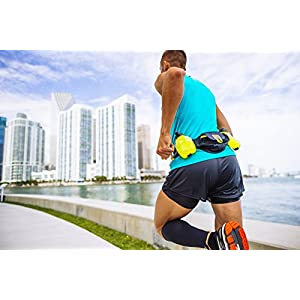 Nathan Trail Mix Plus Hydration Belt, Cockatoo, One Size