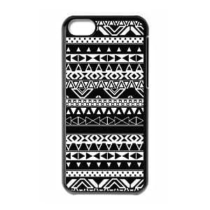 C-EUR Print Aztec Tribal Pattern Hard Case for iPhone 5C