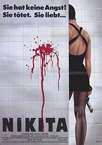 La Femme Nikita Poster Movie German Anne Parillaud Jean-Hugues Anglade Tcheky Karyo