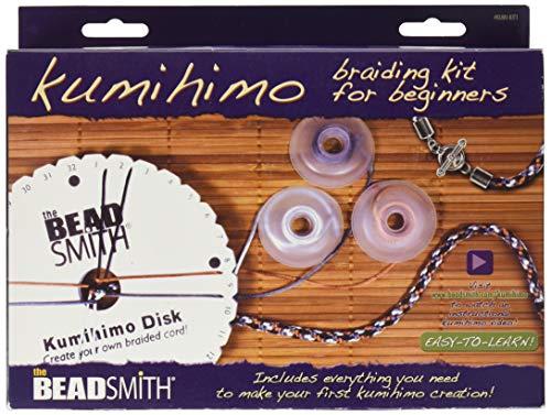 Beadsmith KUMIKIT1 Kumihimo Starter Kit