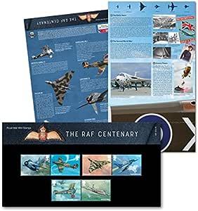 Royal Mail La Fuerza Aérea Real Británica RAF Centenario 2018 - Paquete de Presentación de Sellos: Amazon.es: Juguetes y juegos