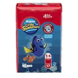 Huggies Little Swimmers Disposable Swim Diapers, Swimpants, Size 5-6 Large (over 32 lb.), 17 Count (Packaging May Vary)