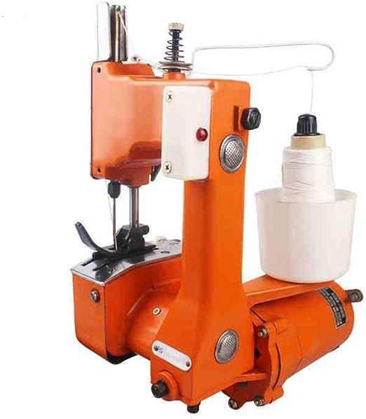 Máquina de coser eléctrica portátil GK9-2 para máquina de coser para tejer, arroz, papel, bolsa de plástico, bolsa de plástico y sellador de bolsas de embalaje de 800 rpm/min: Amazon.es: Bricolaje y