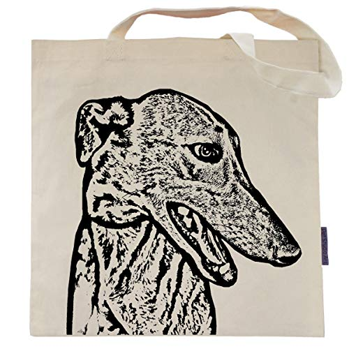Wylie the Greyhound Tote Bag by Pet Studio Art