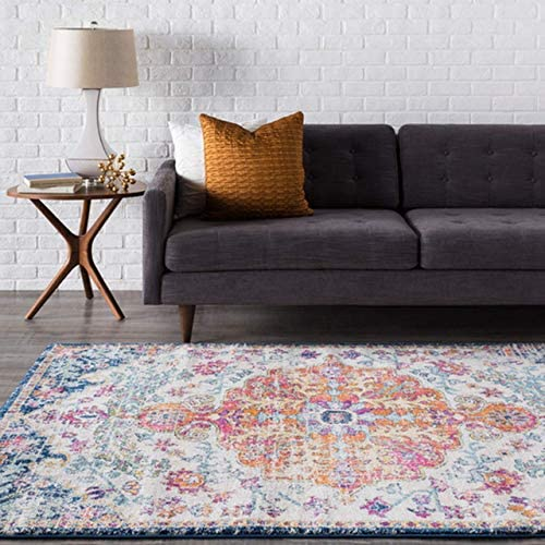 Bodrum 6' 7″ x 9' Moroccan Bohemian Updated Traditional