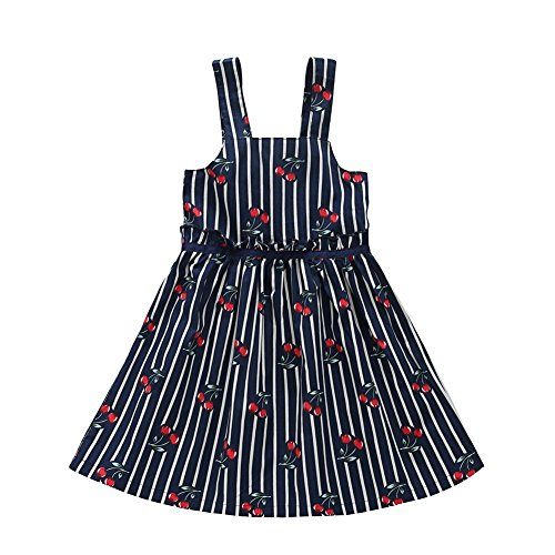 froomer-summer-kids-baby-girls-cherry-print-striped-dress