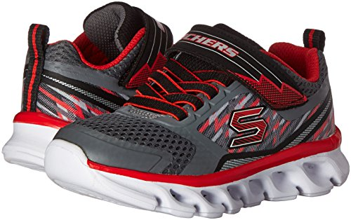 Multicolore flash Running Hypno charcoal tremblers red Skechers Garçon x7zTnWXXv