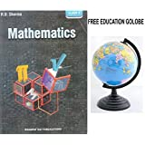 RD Sharma Mathematics for Class 10 (2019-2020 Session) with Free Yeamke educational Globe