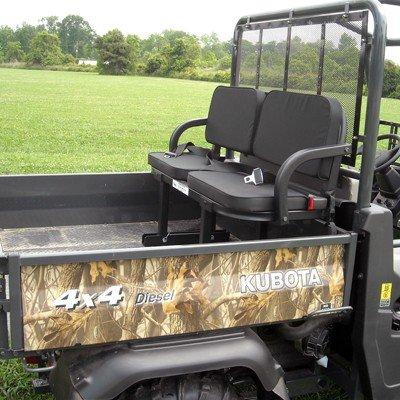 (Yamaha- Rhino 700 2014 UTV Rumble (Rear) Seat- Rear Black UTV Bed Seat)