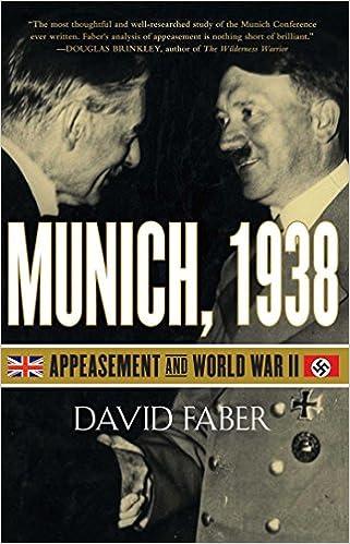 Munich 1938 Appeasement And World War Ii Amazon David