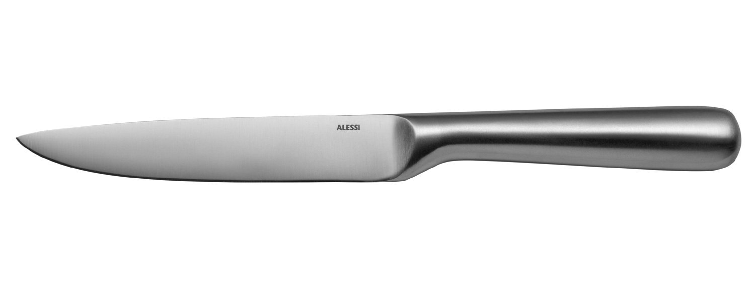 Alessi SG501 Mami Utility Knife in Forget AISI 420, Mat, 9.5''