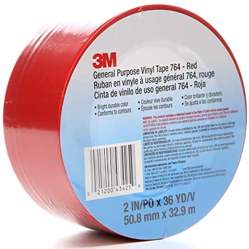 Sealing Tapes Chemical Resistance x 150 ft Blue Rubber Adhesive Tape Roll with Abrasion 3M 3903 Vinyl Duct Tape 2 in