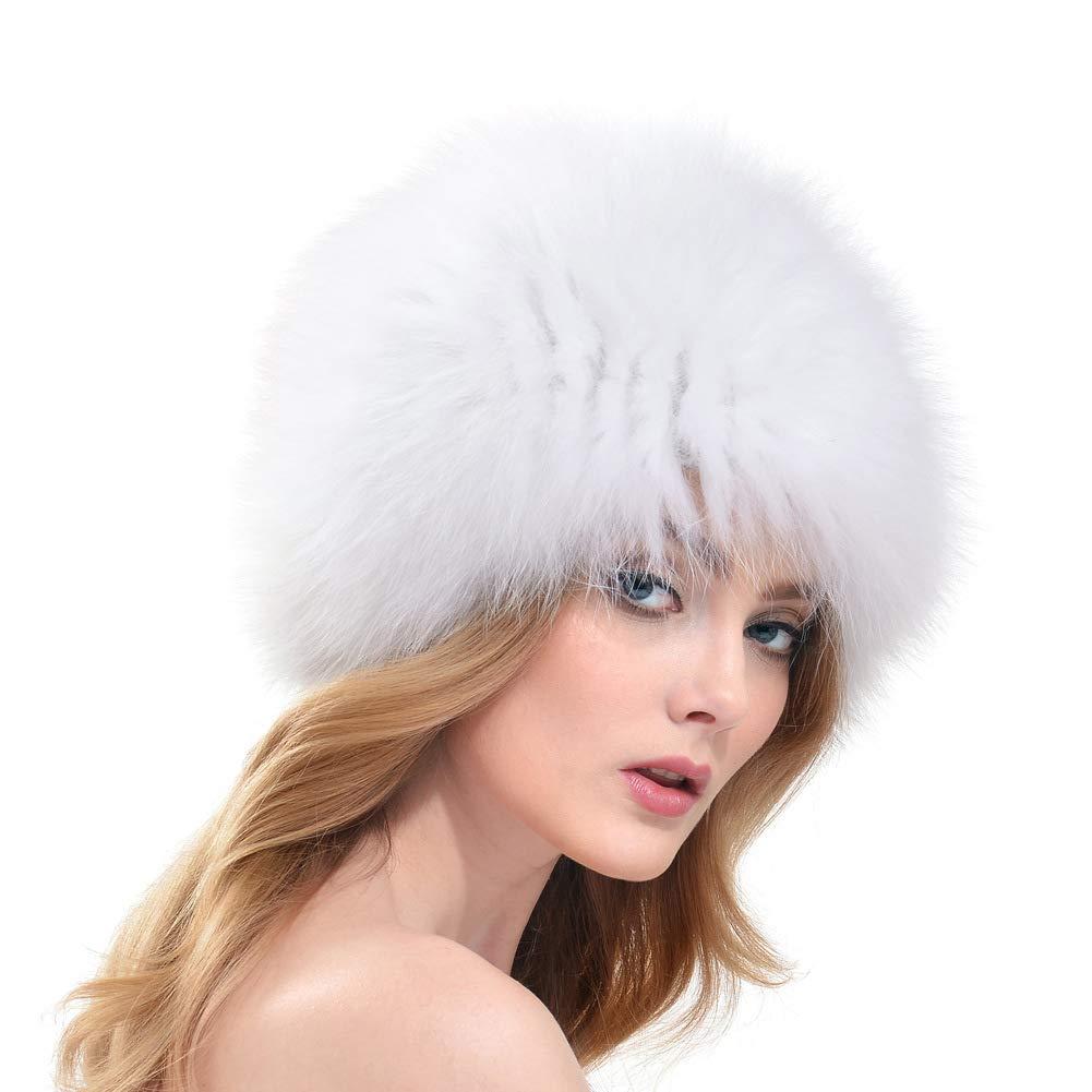 YALTOL PlüSch-Nerzhut-Erbsenhuthut EuropäIsche Und Amerikanische Modewebe, Warmer OhrenschüTzerfrüHling Und Herbstwinterdamen Im Freien,schwarz Weiß