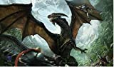 1x Max Protect ANOTHER ROUGH DAY Playmat DRAGON ART for Magic MTG Pokemon YuGiOh Play Mat