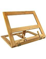 Greenco GRC2226 Bamboo Foldable Recipe Book Stand, Wood