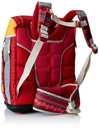 Scout Sac à Dos Enfants Cône, 41 cm, 18,8 L, Multicolore (Rouge)